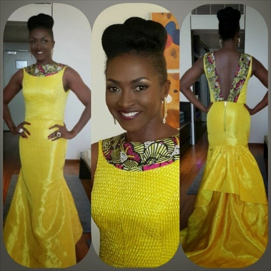 kate henshaw's amvca dress yeoal